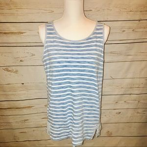 Jane and Delancey Tops - Jane and Delaney Sleeveless Striped Top